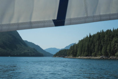 Approaching the Dent Rapids, Inside Passage