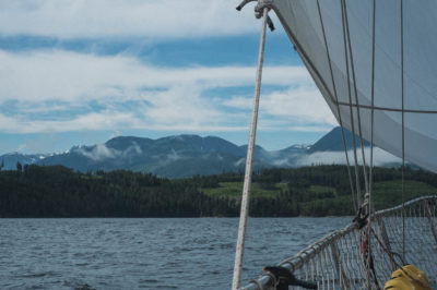 Sailing in Johnstone Strait, Inside Passage