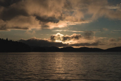 Sunset at Mamalilikulla, Inside Passage