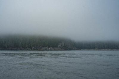 Transit between Limestone Islands on the East Coast of Moresby Island, Haida Gwaii