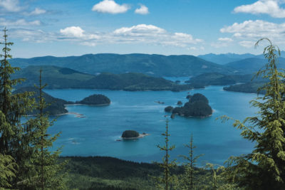 View from Sleeping Beauty Trail, Haida Gwaii