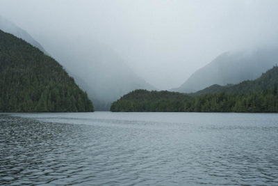 Approaching Anna Inlet on the East Coast of Moresby Island, Haida Gwaii