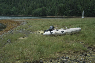 Anna Inlet on the East Coast of Moresby Island, Haida Gwaii