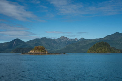 Coming back to the Village of Queen Charlotte, Haida Gwaii