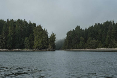 Entrance to Hot Springs Cove, West Coast of Vancouver Island